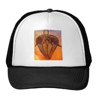 Arcángel copto gorros bordados