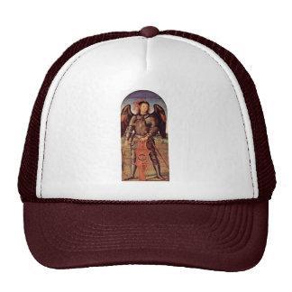 Arcángel Michael de Perugino Pedro (la mejor calid Gorro De Camionero