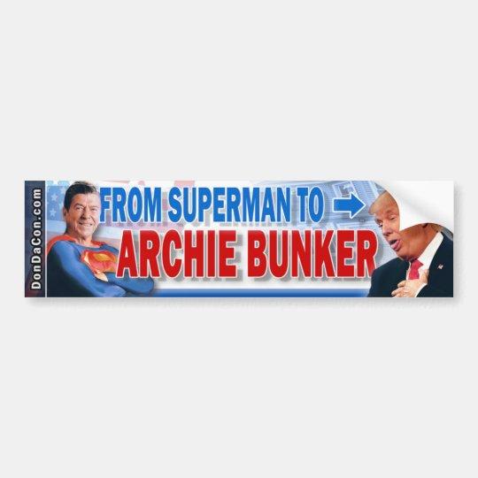 Archie del triunfo pegatina para coche