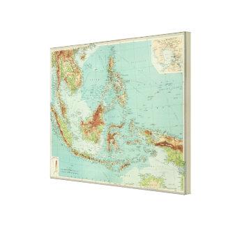 Archipiélago de Malay Impresion En Lona