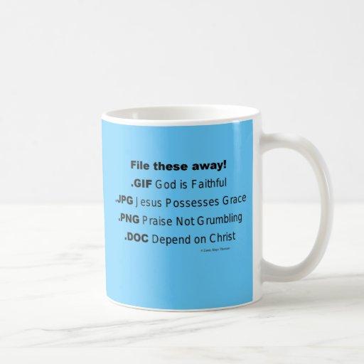 archive éstos ausentes tazas de café