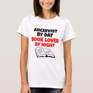 Archivista del aficionado a los libros camiseta