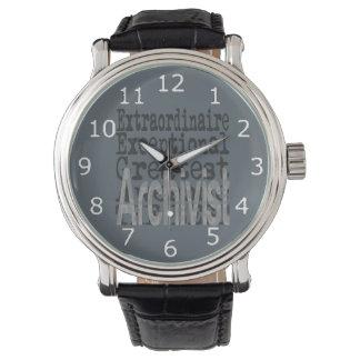 Archivista Extraordinaire Relojes