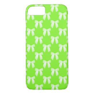 Arco blanco verde de neón funda iPhone 7