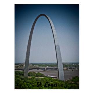Arco de la entrada de St. Louis Postal
