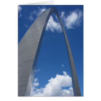 Arco de la entrada, St. Louis, Missouri Tarjeta De Felicitación