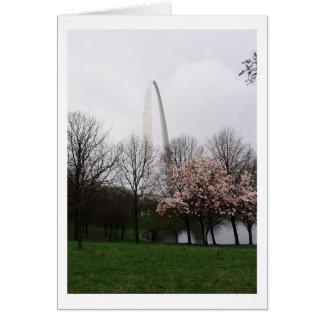 Arco de St. Louis Tarjeta De Felicitación