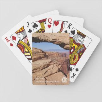 Arco del Mesa en los naipes de Canyonlands NP