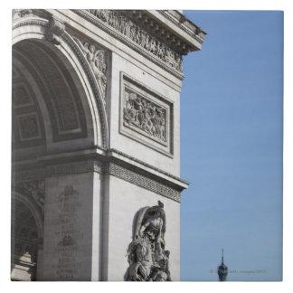 Arco del Triunfo Azulejo Cuadrado Grande