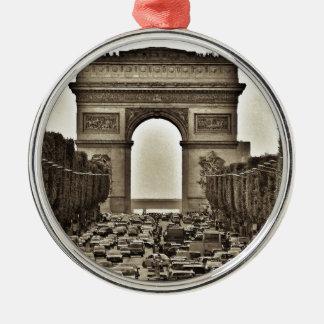 Arco del Triunfo, París, Francia Ornamento Para Reyes Magos