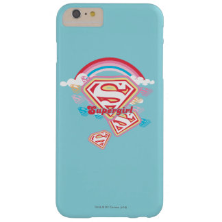 Arco iris 2 de Supergirl Funda De iPhone 6 Plus Barely There