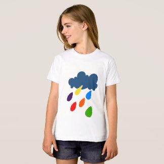 arco iris camiseta