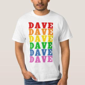 Arco iris Dave Camiseta