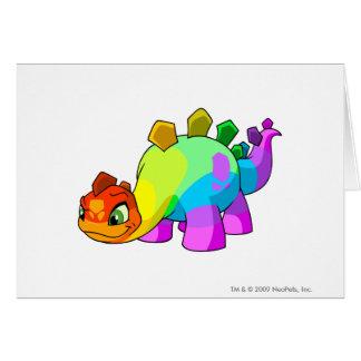 Arco iris de Chomby Tarjeta De Felicitación