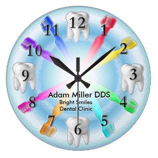 Arco iris de encargo del reloj del dentista