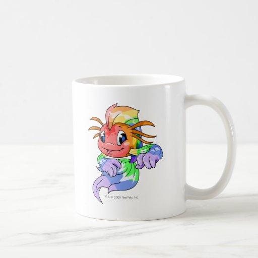 Arco iris de Koi Taza De Café