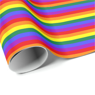 Arco iris de la bandera del orgullo del papel de