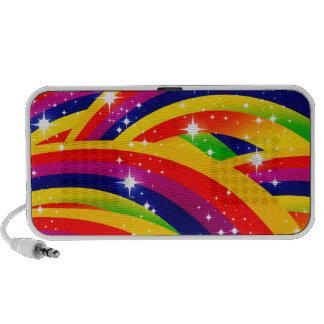 arco iris de la chispa portátil altavoces