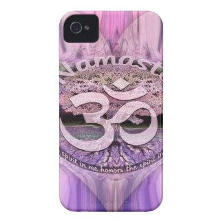 Arco iris de Namaste Carcasa Para iPhone 4