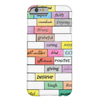 Arco iris del caso inspirado del iPhone 6 de la Funda Barely There iPhone 6