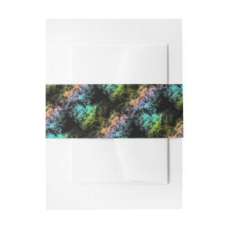 Arco iris del espacio de la galaxia de la nube en cintas para invitaciones
