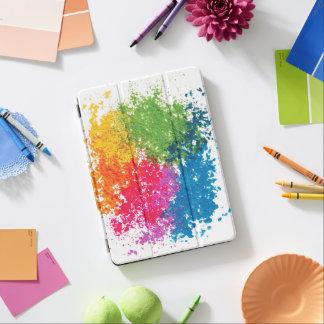 Arco iris del polvo del color cover de iPad air