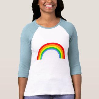 Arco iris del vintage del tigre 80s de Corey Camisetas