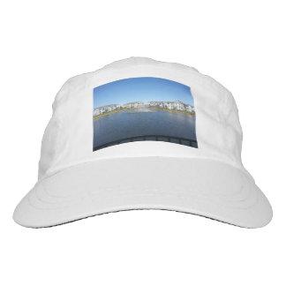 Arco iris en blanco tejido personalizado del gorra gorra de alto rendimiento