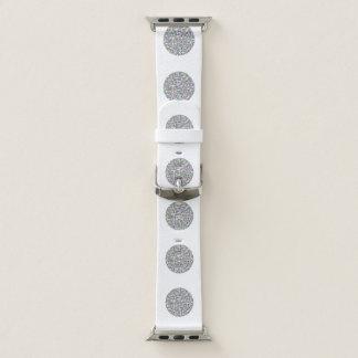 Arco iris en una correa de reloj del diseño del