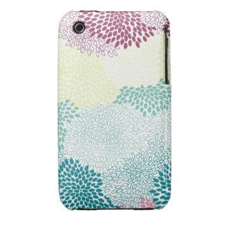 """Arco iris estallado """"flor"""" de colores Case-Mate iPhone 3 fundas"""