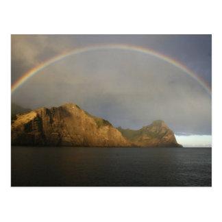 arco iris fabuloso en Chile Postal