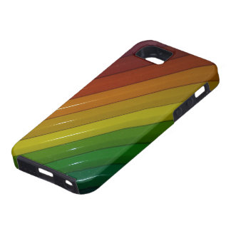 Arco iris funda para iPhone 5 tough
