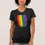 Arco iris gay camisetas
