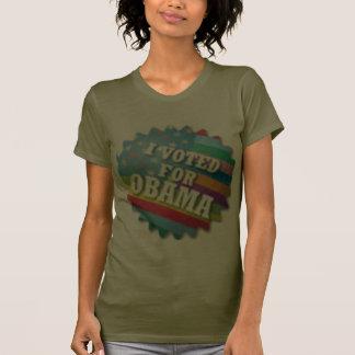 Arco iris I votado por Obama Camiseta