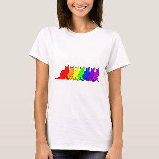 Arco iris Korat Camiseta