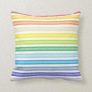 Arco iris más amplio resumido del espectro de las cojín decorativo