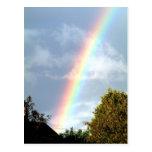 Arco iris - postal