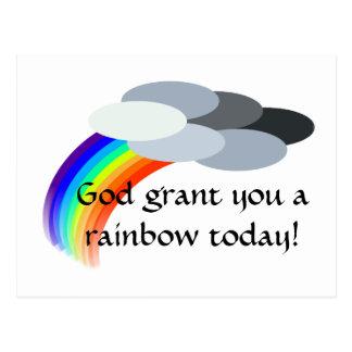 arco iris postal