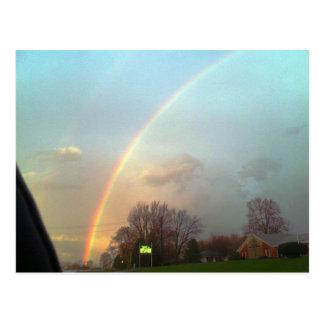 ¡Arco iris!!! Postal