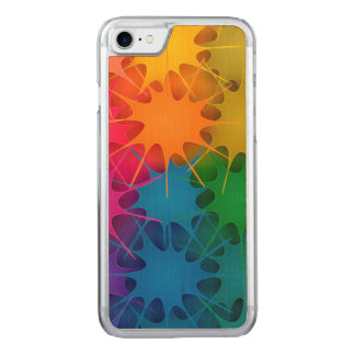 ¡Arco iris Splat! Funda Para iPhone 7 De Carved