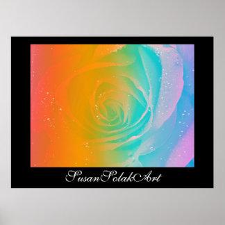 Arco iris subió póster