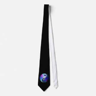 Arco iris Taijitu Yin Yang Corbatas