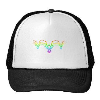Arco iris tribal gorras de camionero