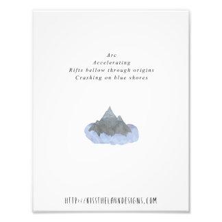 Arco - poesía 8,5 x 11 imprimible impresion fotografica