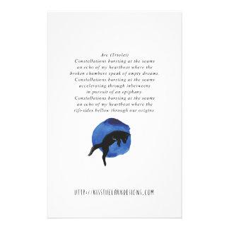 Arco - poesía de Jessica Fuqua Papelería