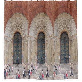 Arcos del Iglesia Cuenca Ecuador Cortina De Baño