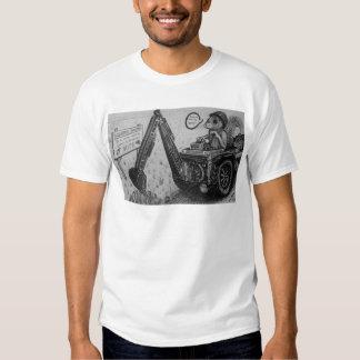 Ardilla que cava el Co. Camiseta