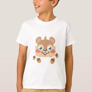 Ardilla y bellotas camisetas