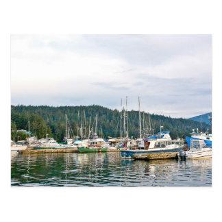 Área costal en el puerto deportivo Alaska de Auke Postal