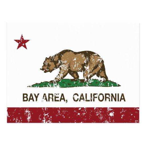 área distressed.png de la bahía de la bandera de C Postal
